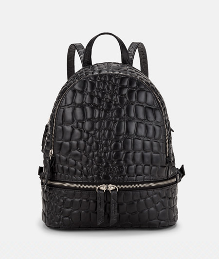 Rucksack with crocodile embossing from liebeskind