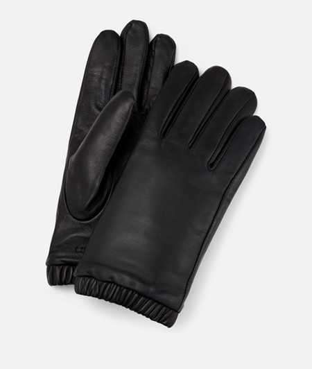 Lambskin leather gloves from liebeskind