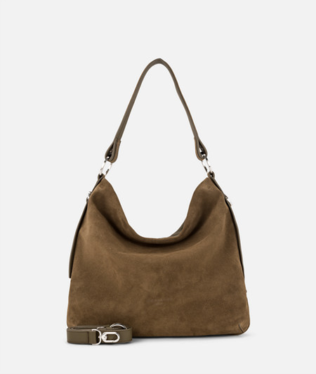 Hobo Bag aus Wildleder