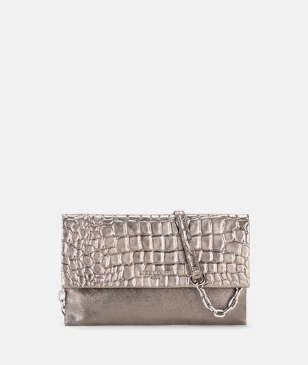 Mixed leather clutch from liebeskind
