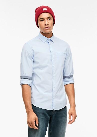 Tall Size: košile se vzorovanou strukturou