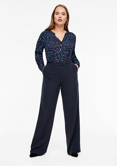Marlene trousers in twill from s.Oliver