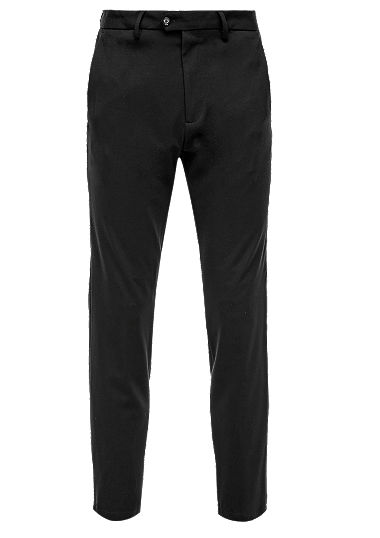 Slim fit: Tracksuit tuxedo trousers from s.Oliver