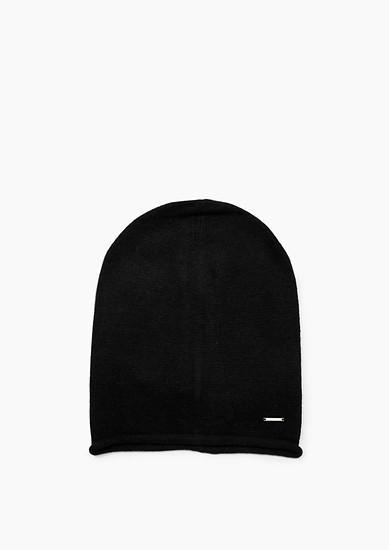Mütze aus Feinstrick