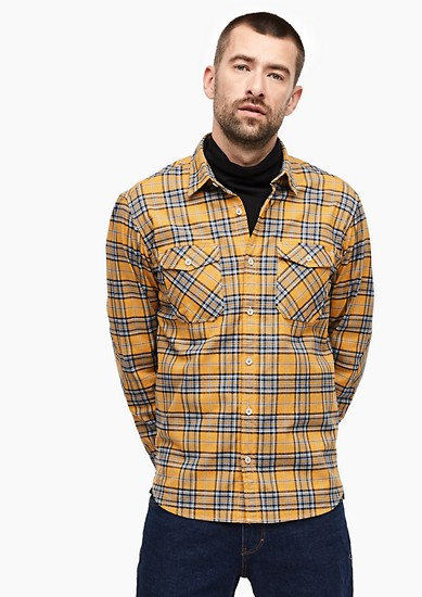 Tall Size: check shirt from s.Oliver