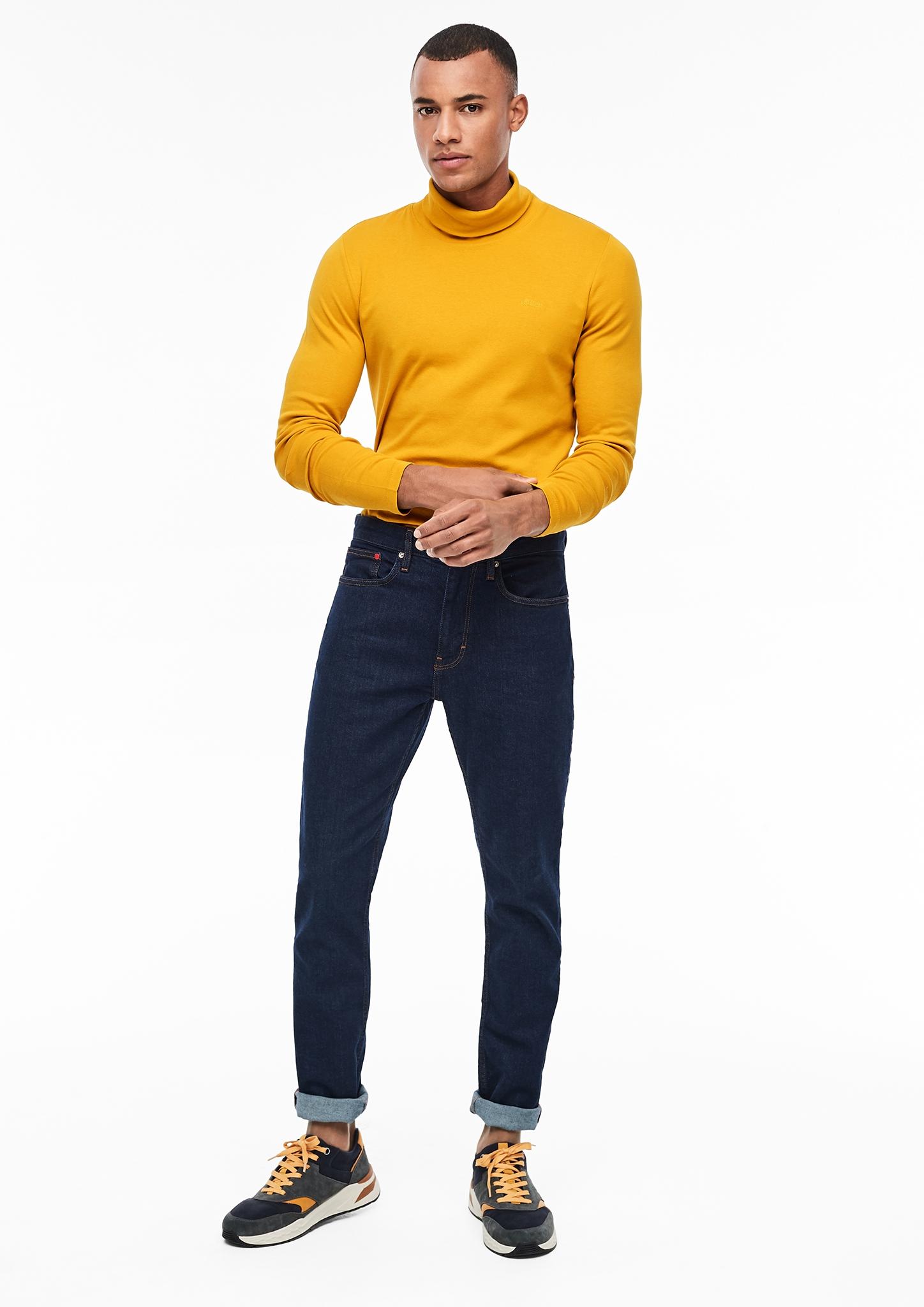 s-Oliver-Casual-Men-Langarmshirt-mit-Rollkragen-Neu Indexbild 18