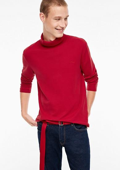 Tričko sdlouhým rukávem asrolákem