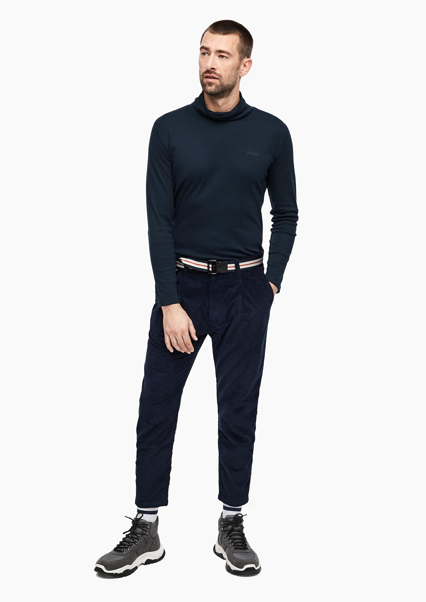 s-Oliver-Casual-Men-Langarmshirt-mit-Rollkragen-Neu Indexbild 9