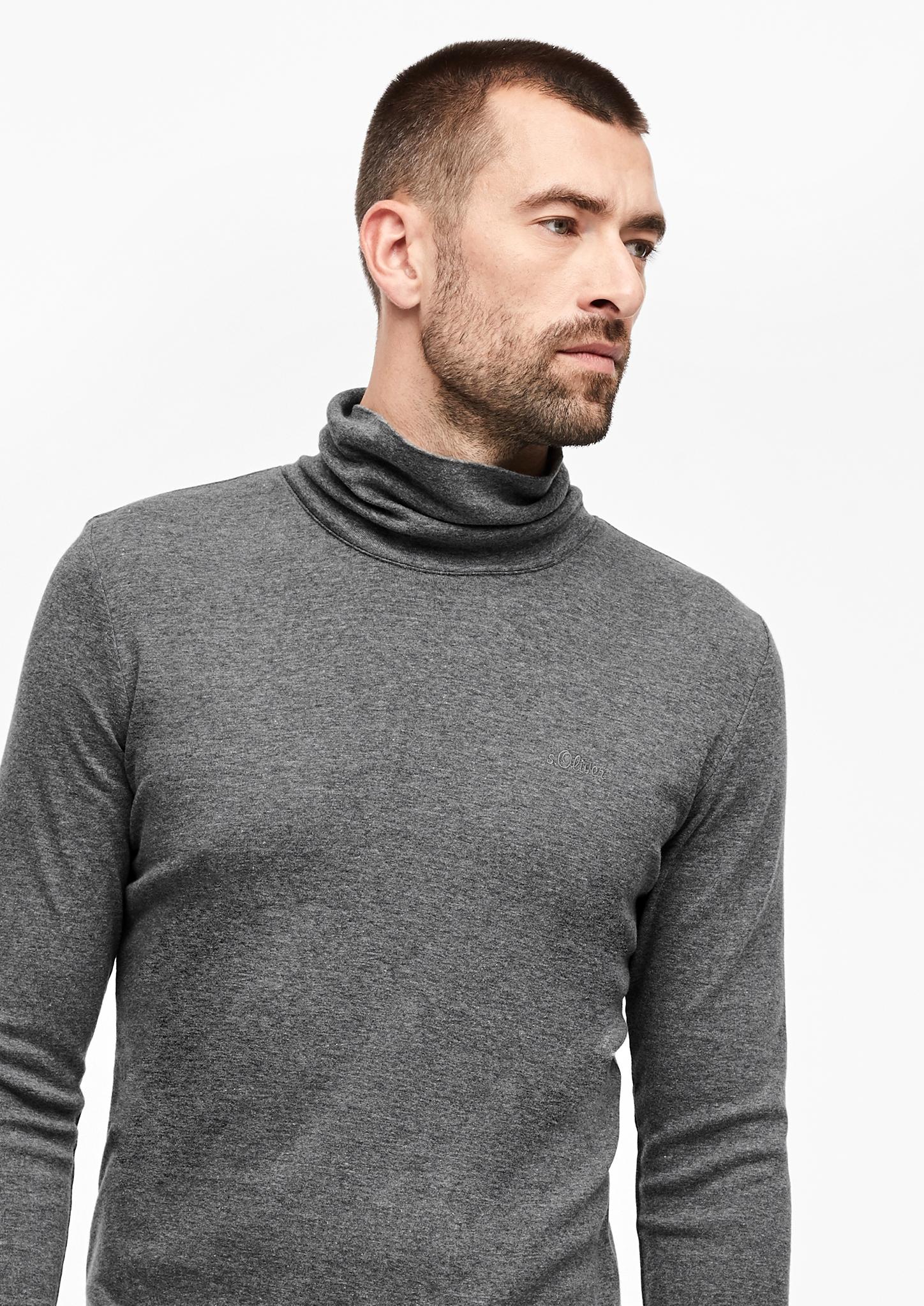 s-Oliver-Casual-Men-Langarmshirt-mit-Rollkragen-Neu Indexbild 4