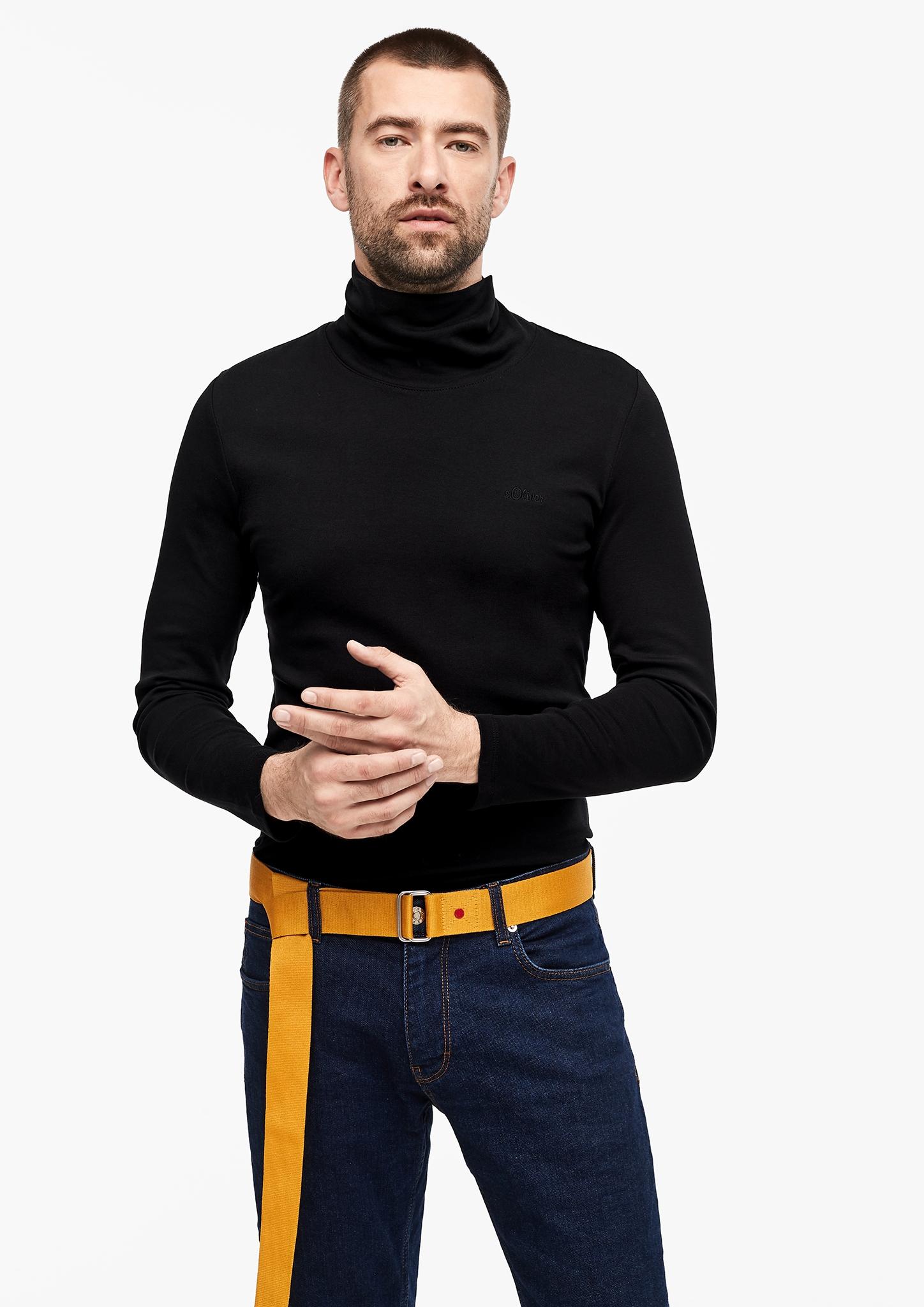 s-Oliver-Casual-Men-Langarmshirt-mit-Rollkragen-Neu Indexbild 16