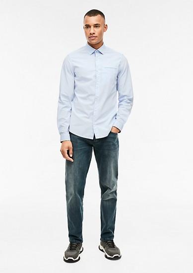 Slim: košile se vzorovanou strukturou