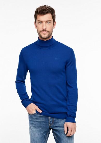 pulovr z jemné pleteniny s rolákem