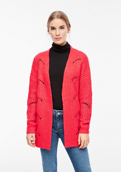 Warmer Grobstrick-Cardigan