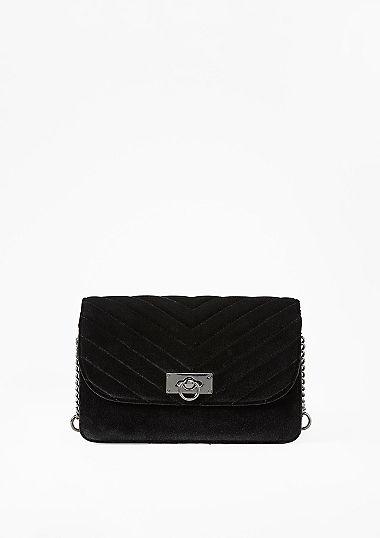 Elegante Tasche aus Samt