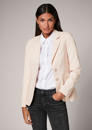 Blazer in a classic look from comma