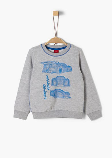 Sweat-shirt à motif voiture de s.Oliver