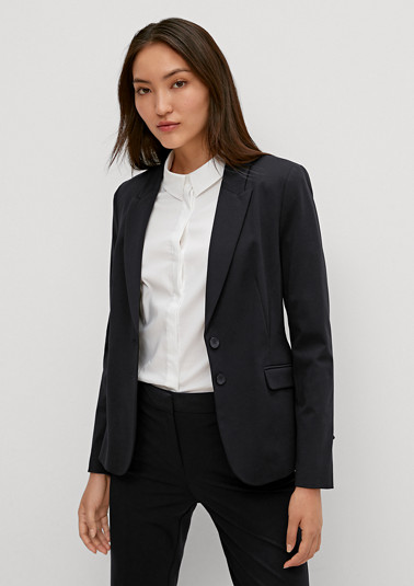 Plain coloured blazer from comma