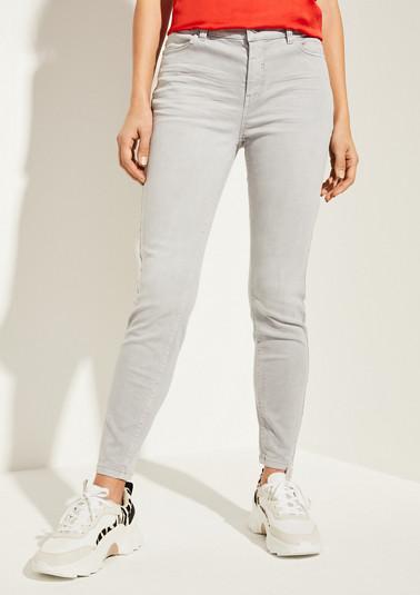 Regular Fit: Slim leg-Jeans mit Wascheffekt