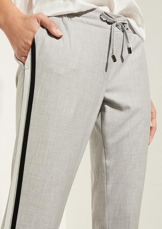 Slim Fit: Slim leg-Hose im Athleisure-Look