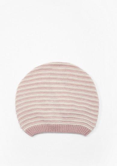 Bonnet en maile à rayures texturées de s.Oliver