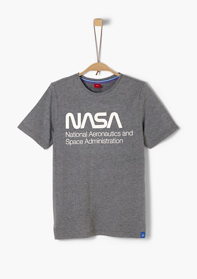 Jerseyshirt mit NASA-Print