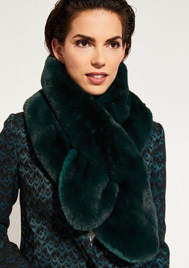 Schal aus kuscheligem Kunstfell