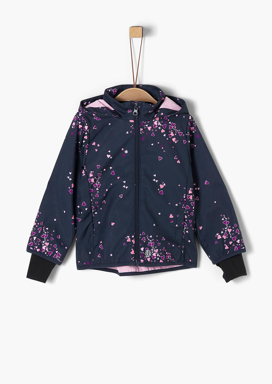 Softshell Jacke mit Allovermuster kaufen | s.Oliver Shop