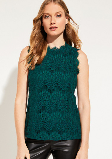 Delicate lace top from comma