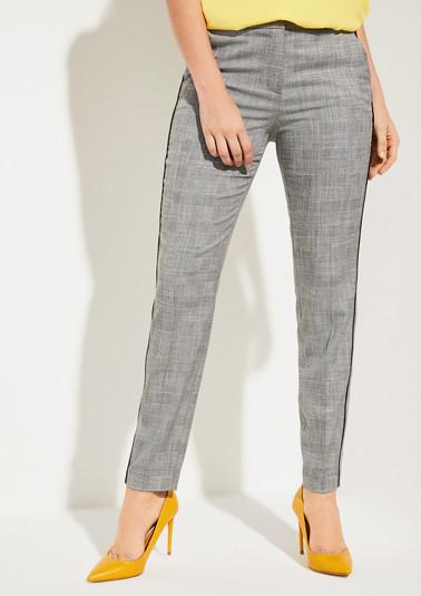 Regular Fit: Hose mit gewebtem Muster