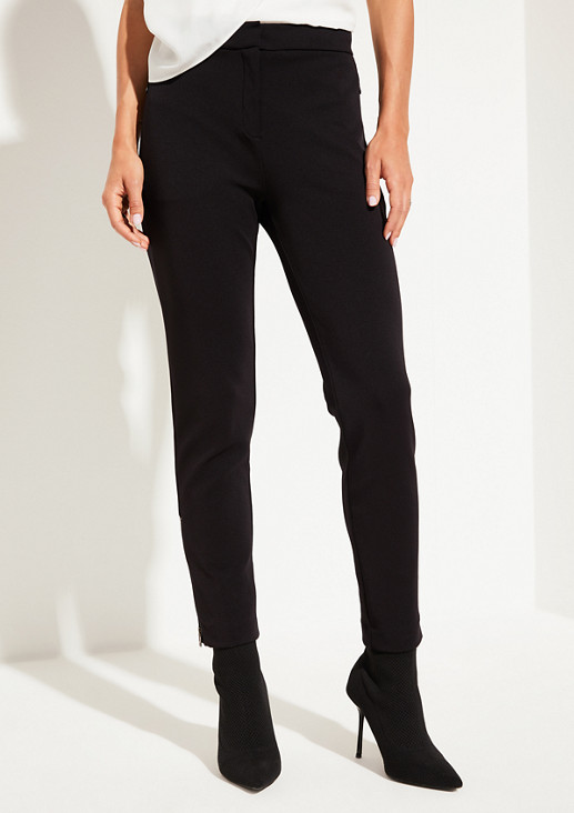 Business trousers with sophisticated details from comma