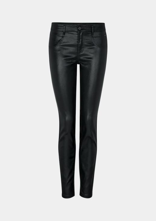 Jeans mit aufwendiger Beschichtung