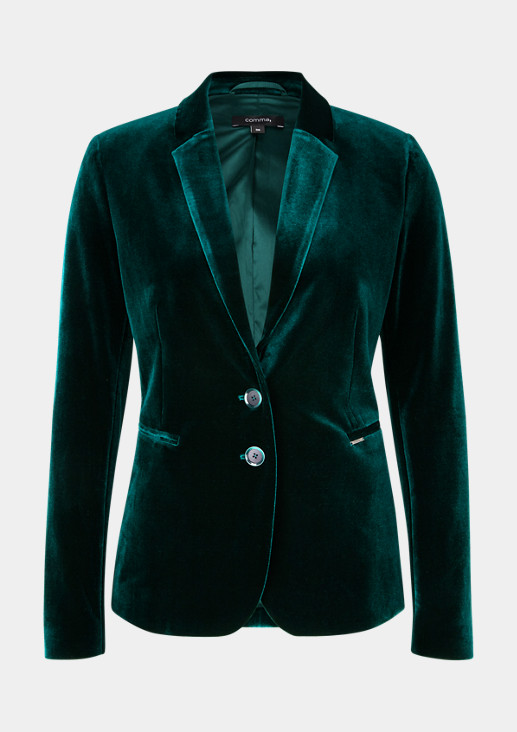 Satin blazer with decorative details from comma