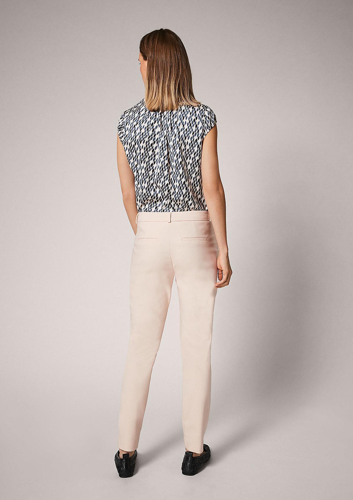 Regular Fit: Slim leg-Hose im eleganten Look