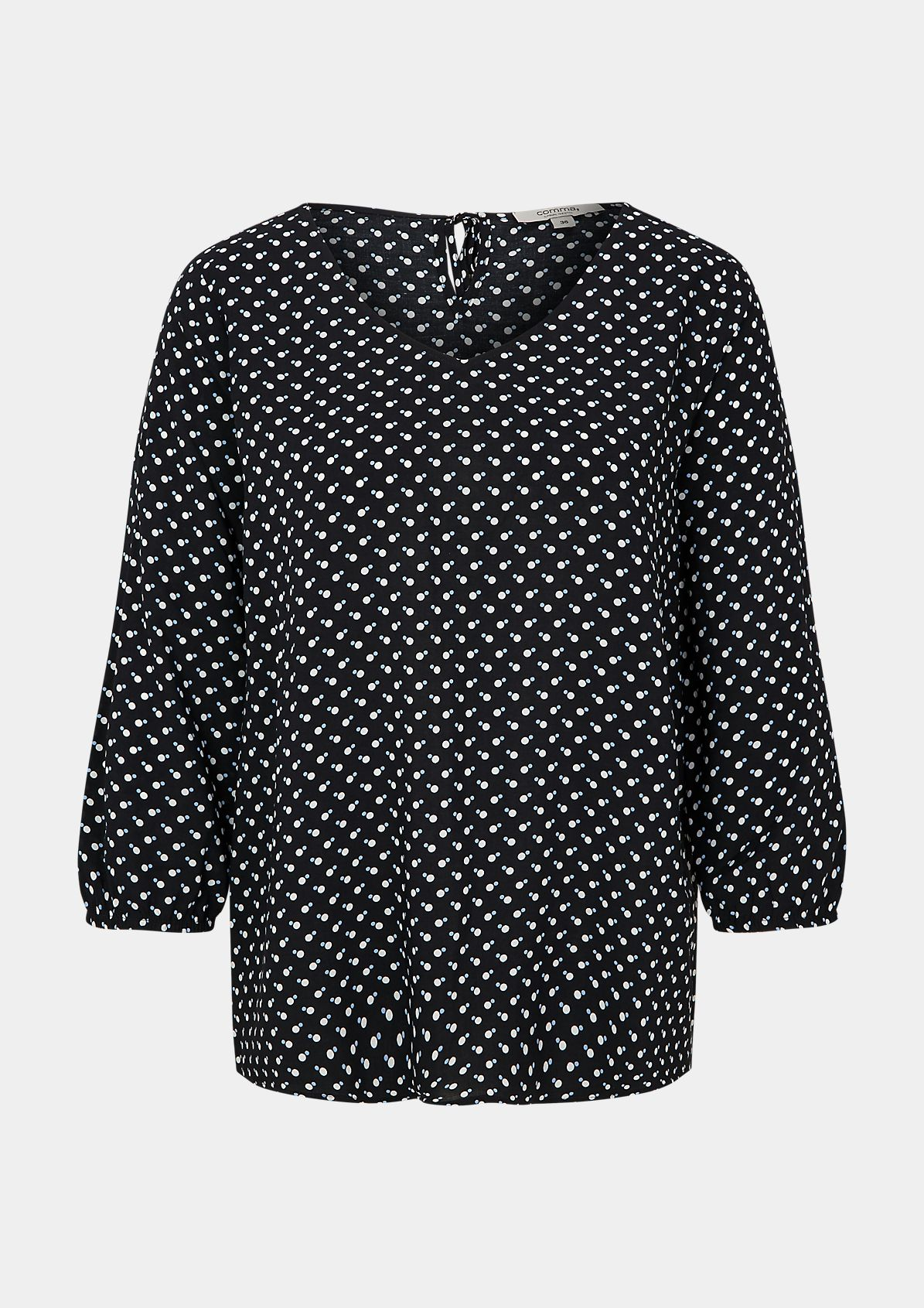 Lightweight tunic with an all-over print from comma