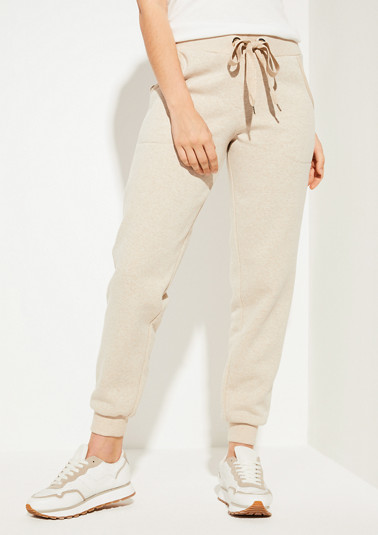Sweatpants mit Metallic-Akzenten