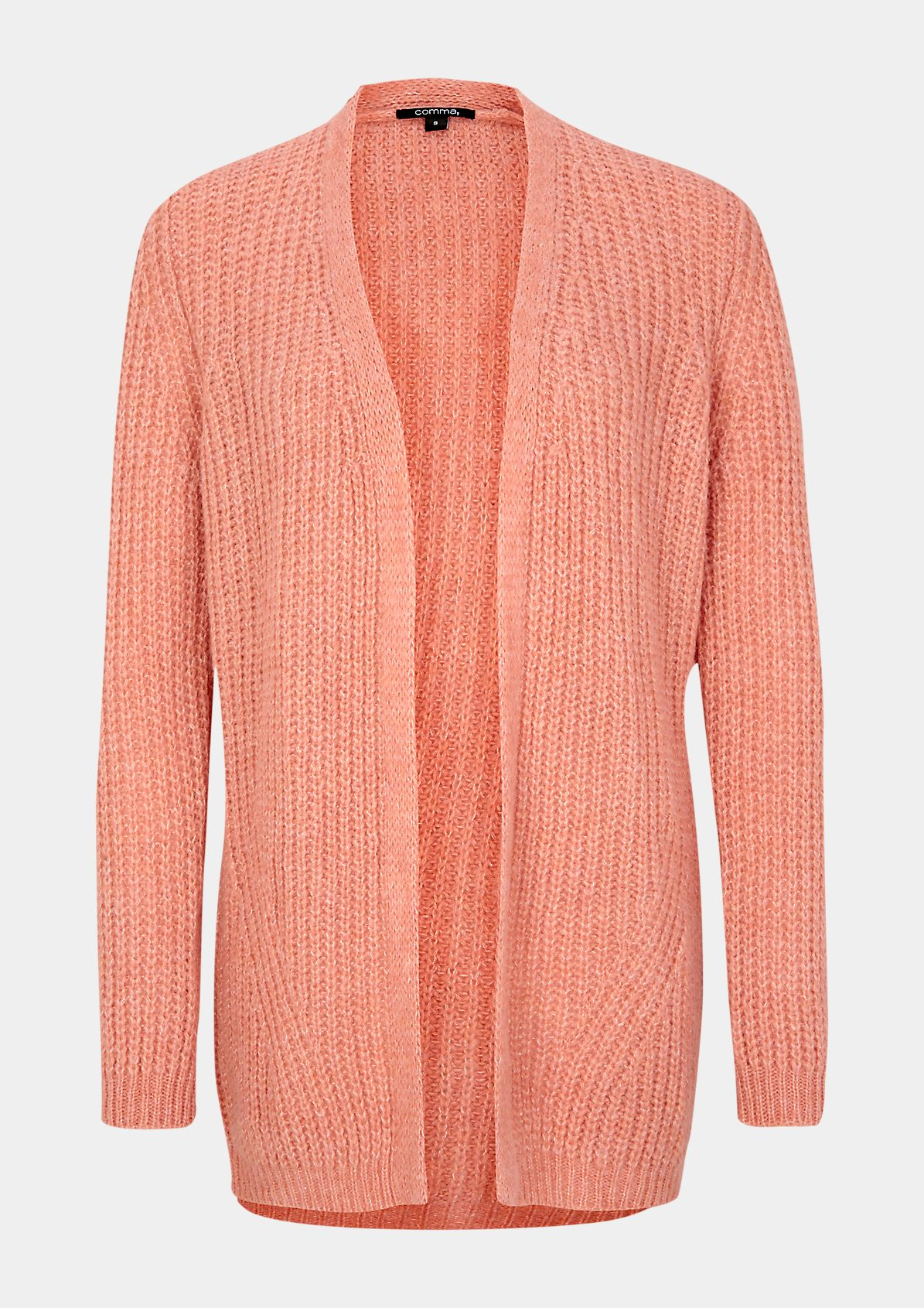 Chunky knit cardigan with fine details from comma