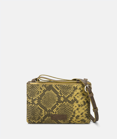 Cross-body bag with a snakeskin pattern from liebeskind