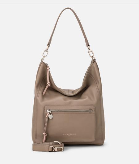 Hobo Bag mit aufgesetztem Frontfach