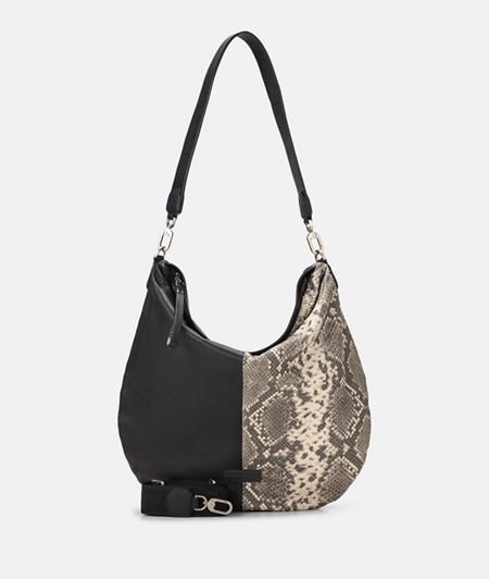 Hobo Bag aus Ledermix