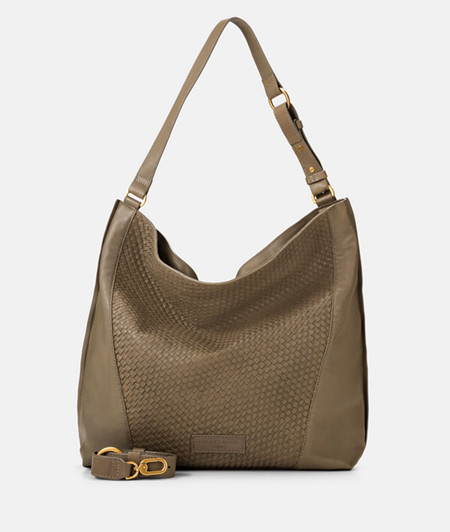 Shoulder bag with braided leather from liebeskind