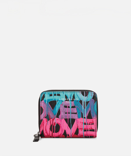 Purse with a graffiti print from liebeskind