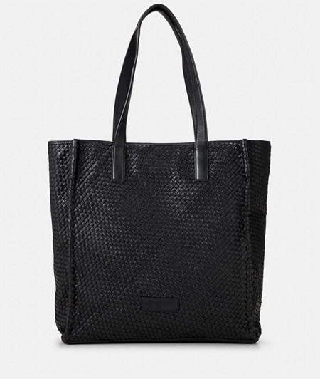 Shopper made of braided leather from liebeskind