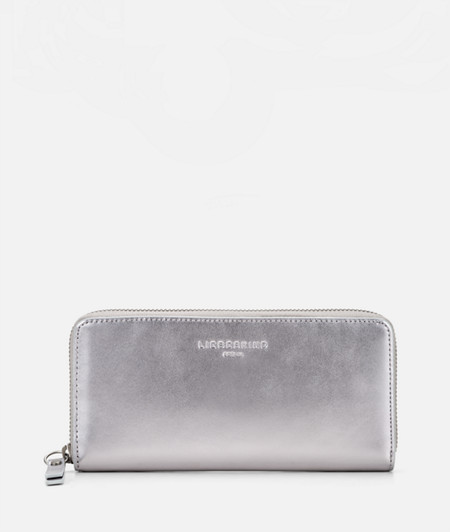 Metallic leather purse from liebeskind