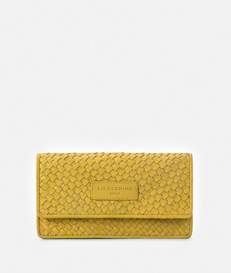 Purse made of braided leather from liebeskind