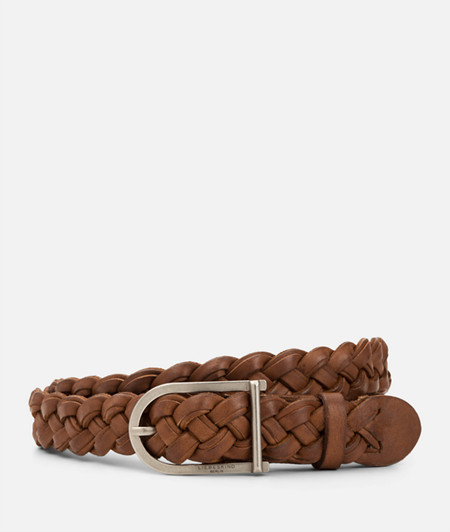 Belt made of braided leather from liebeskind