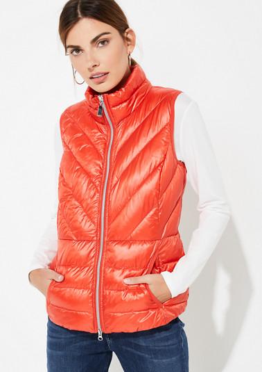 Veste en nylon d'aspect doudoune légère de Comma