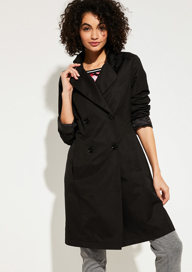 Coat in a clean look from comma