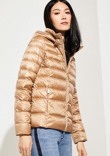 Plain-coloured jacket from comma
