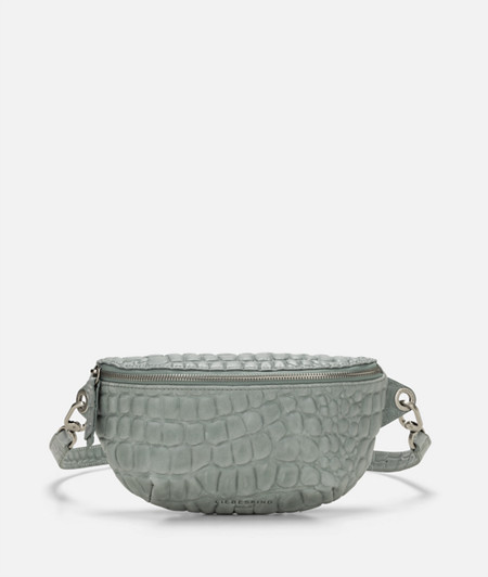 Belt wallet with crocodile embossing from liebeskind