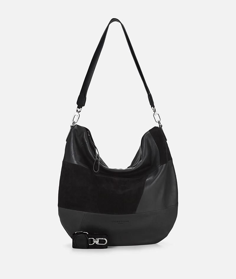Liebeskind Berlin Hobo-Tasche aus Schwarzem Leder